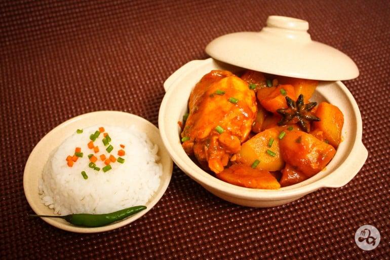 Reteta curry cu pui