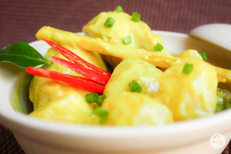 Curry thailandez cu pui