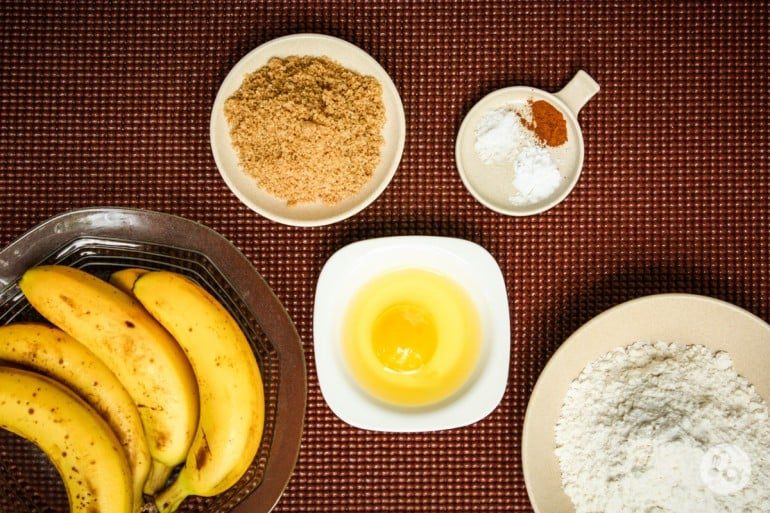 Ingrediente chiftelute de banane