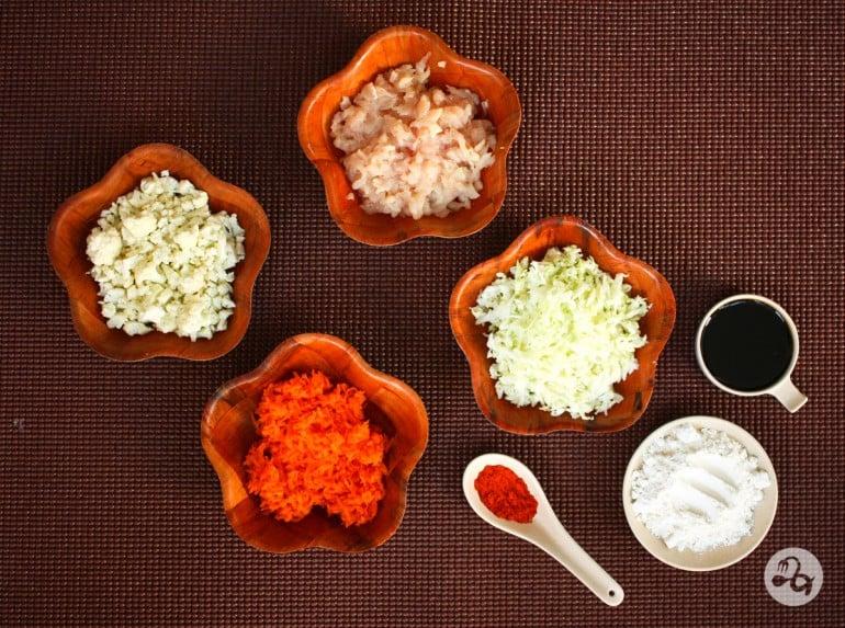 Ingrediente chiftelute manciuriene