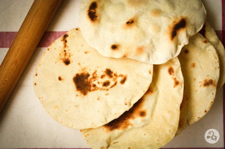 Turte indiene (roti, naan, chapati)